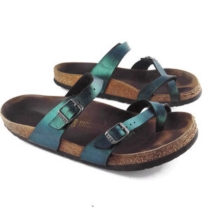 BIRKENSTOCK Metallic Green Size EU: 40  US:  10